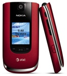 Nokia 6350 Camera FLIP 3G Gps Gsm Unlocked RED