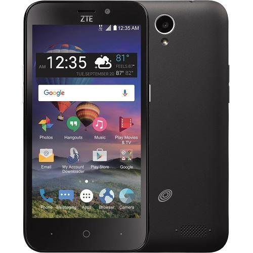 ZTE Z Five 2 LTE - 8 GB - Black - Straight Talk [ZTEZ837VL