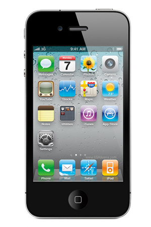 Apple iPhone 4 16GB Unlocked GSM Smartphone - Click Image to Close