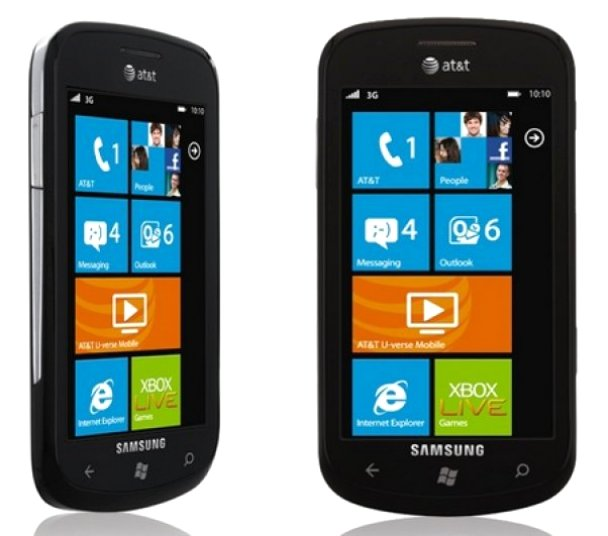 samsung sgh i917 focus windows phone at t wcdma umts gsm rh cell2get com All Samsung Unlocked Smartphones Samsung Focus I917 Review