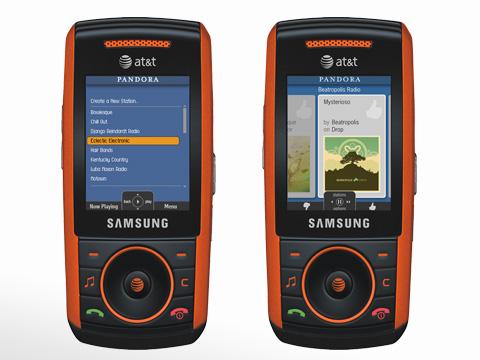 Samsung A737 Orange GSM UNLOCKED Red