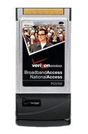Verizon Wireless PC5750 PC Card